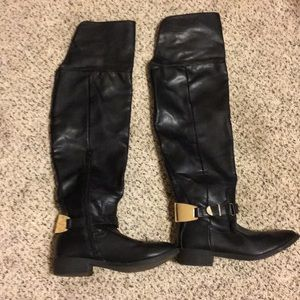 Shoes - Over the knee boots. Size 6.